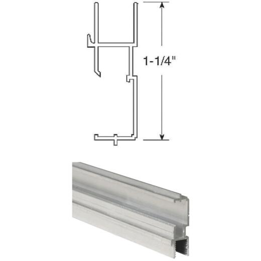 Prime-Line 1-1/4 In. x 72 In. Mill Triple Track Bottom Window Frame
