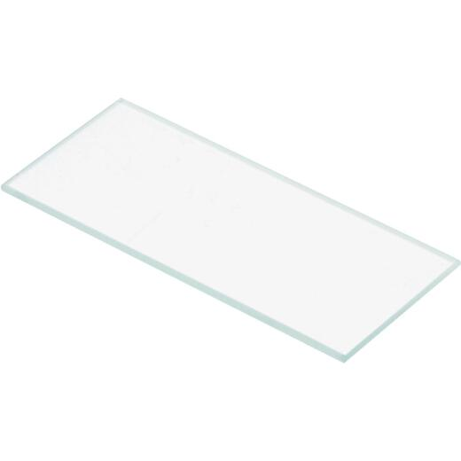 Forney Clear 2 In. x 4-1/4 In. Welding Lenses