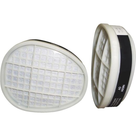 Safety Works OV/P95 Paint and Pesticide Replacement Filter Cartridge (2-Pack)