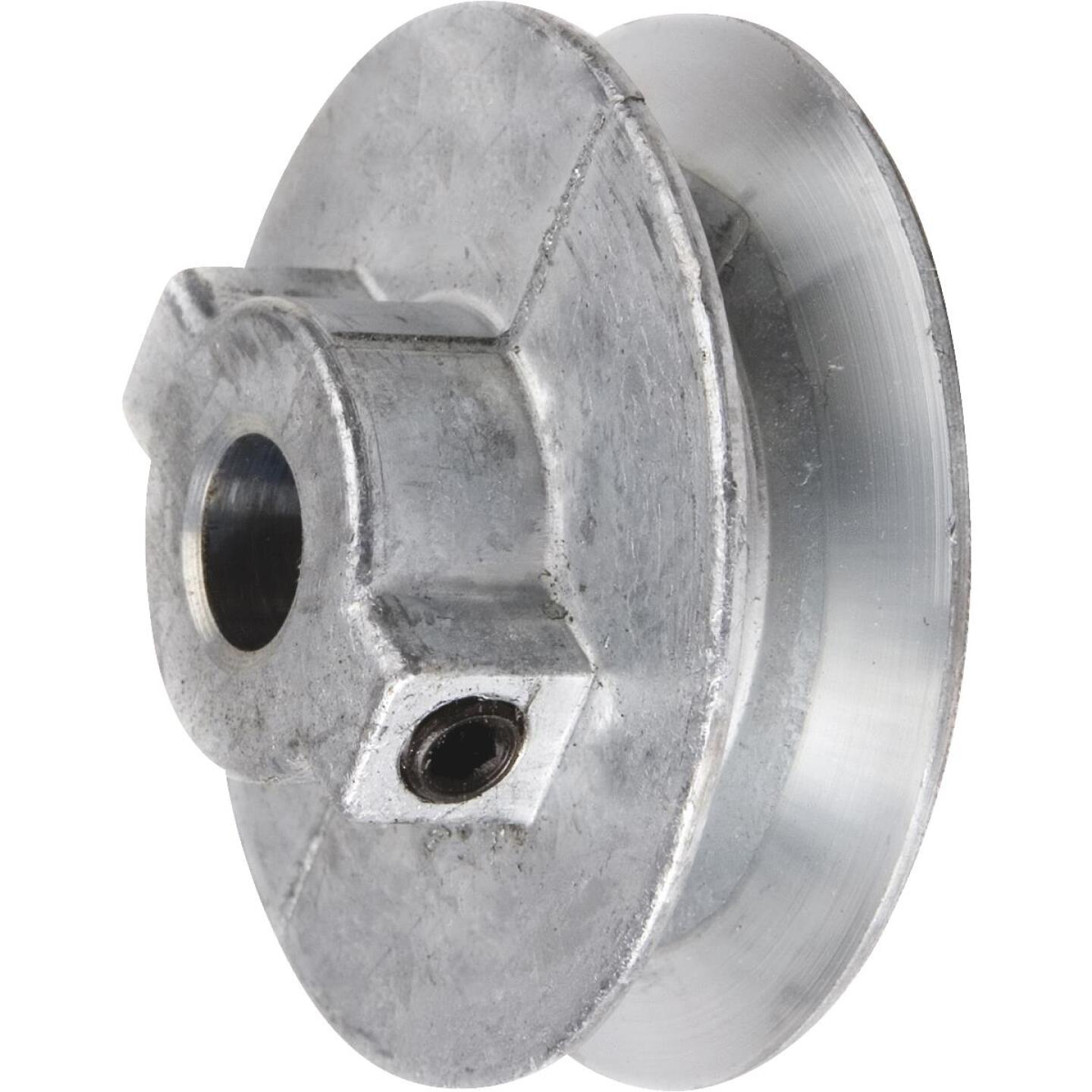 Chicago Die Casting 5 In. x 5/8 In. Single Groove Pulley Image 1