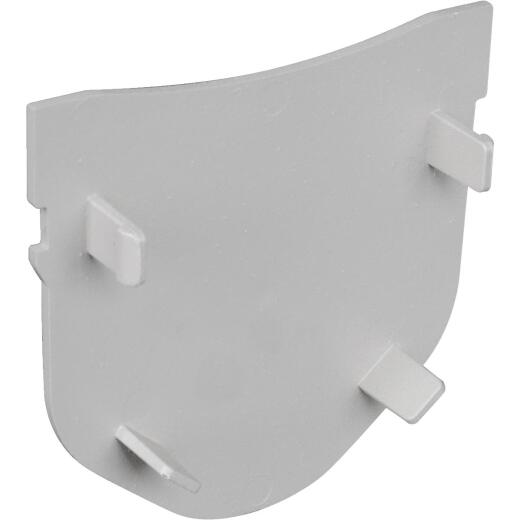 Fernco Polypropylene Storm Drain Channel End Cap