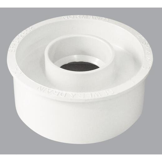 Genova Schedule 40 4 In. to 1-1/2 In. PVC Sewer and Drain Bushing