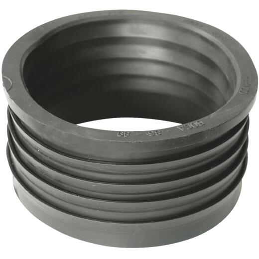 Fernco DWV 3 In. x 3 In. Sewer and Drain PVC Iron Pipe Hub Adapter