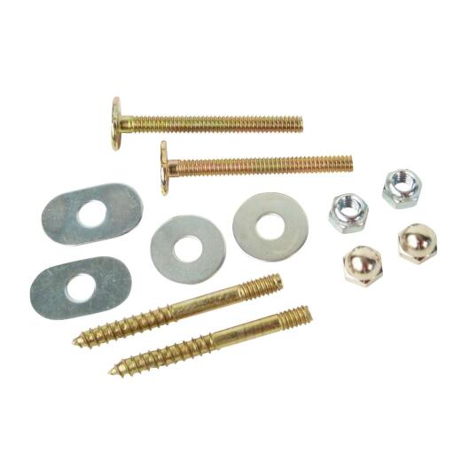 Do it 1/4 In. x 2-1/4 In. Brass-Plated Steel Toilet Screws