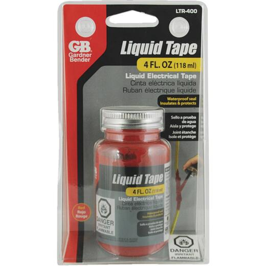 Gardner Bender 4 Oz. Red Electrical Liquid Tape