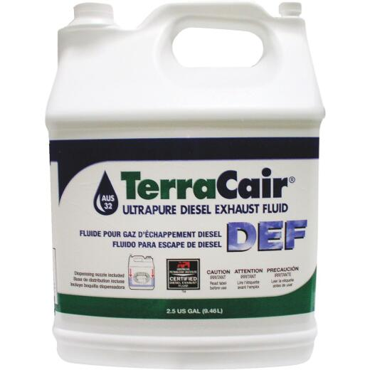 TerraCair Ultrapure Diesel Exhaust Fluid, 2.5 Gal.