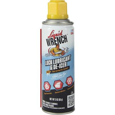 Liquid Wrench 3 Oz. Aerosol Spray Lock Lubricant & De-Icer