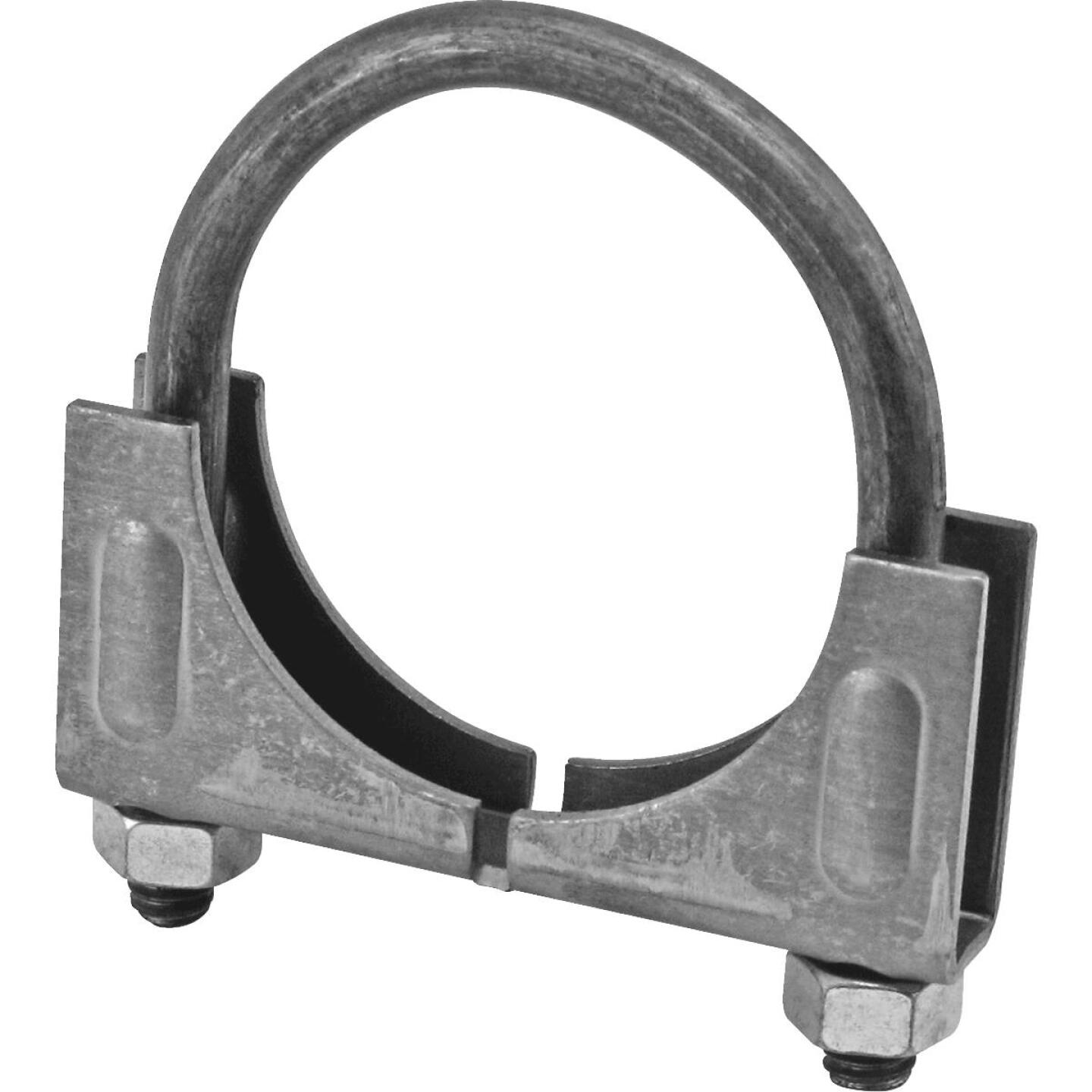 "Victor Saddle 1-7/8"" 13-gauge Steel Muffler Clamp Image 1"