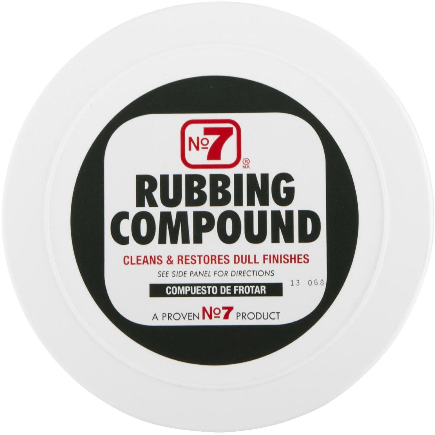 NO. 7, 10 oz Paste  Rubbing Compound Image 3