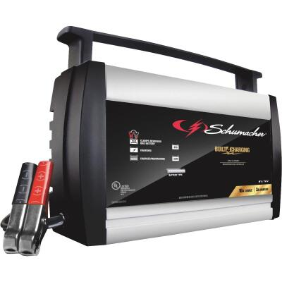 Schumacher Automatic 6/12 Volt 10A Automotive and Marine Battery Charger
