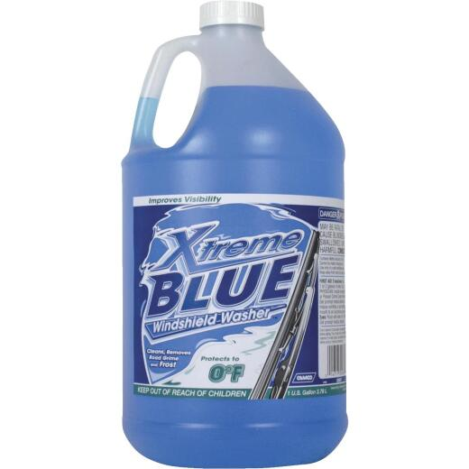 Camco Xtreme Blue -0 F with Antifreeze Gallon Windshield Washer Fluid
