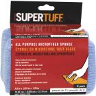 Trimaco SuperTuff 3-1/4 In. W x 5-1/2 In. L Microfiber Car Wash Sponge (2-Pack) Image 1