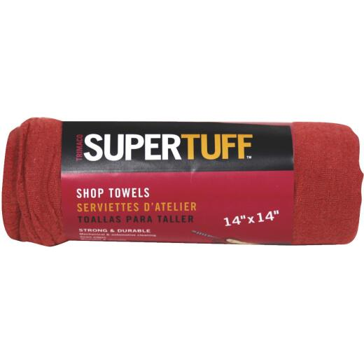 Trimaco SuperTuff 14 In. Square Washable Shop Towel (5-Pack)