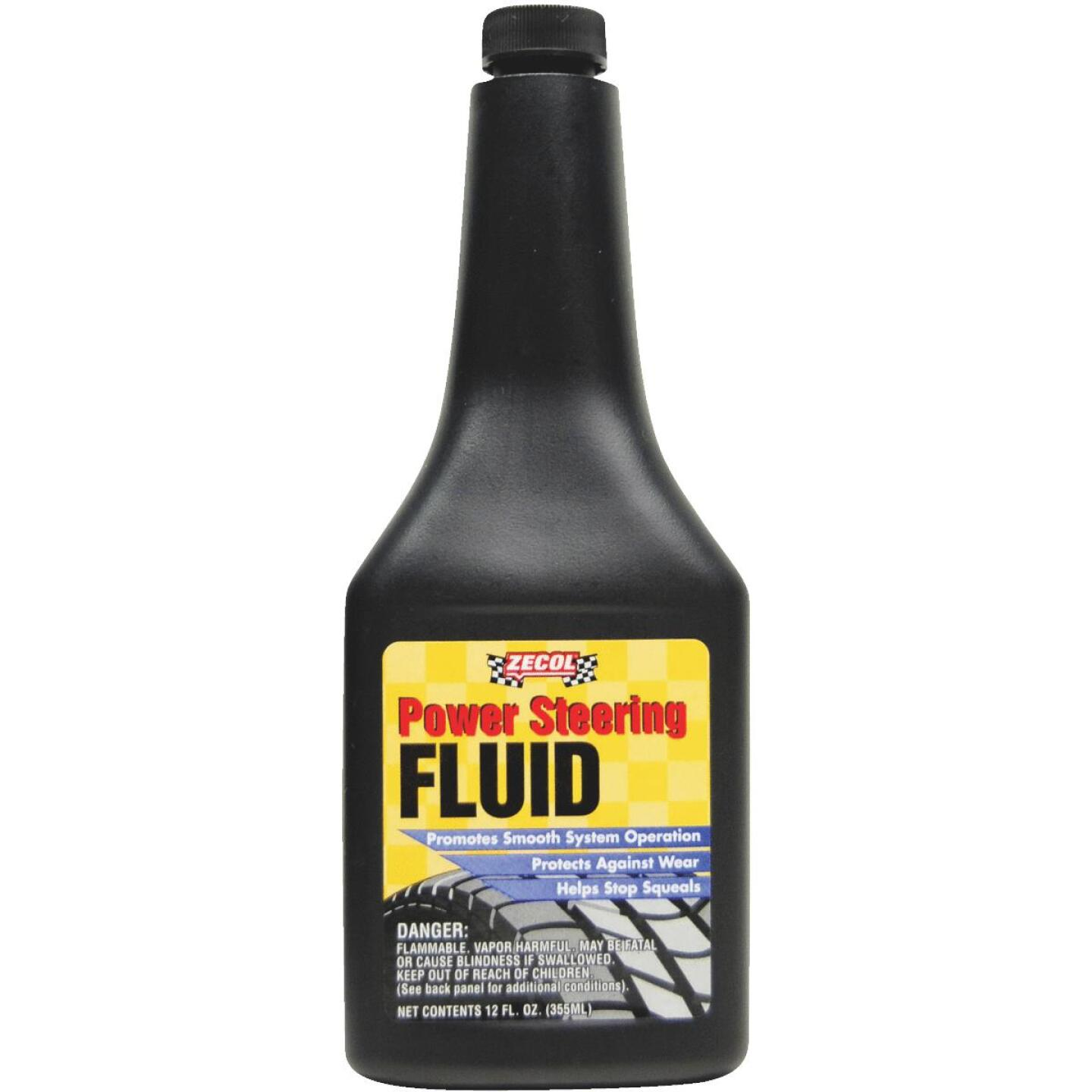Zecol 12 Oz. Power Steering Fluid Image 1