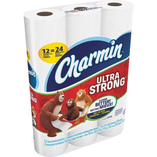 Charmin Ultra Strong Toilet Paper (12 Double Rolls)