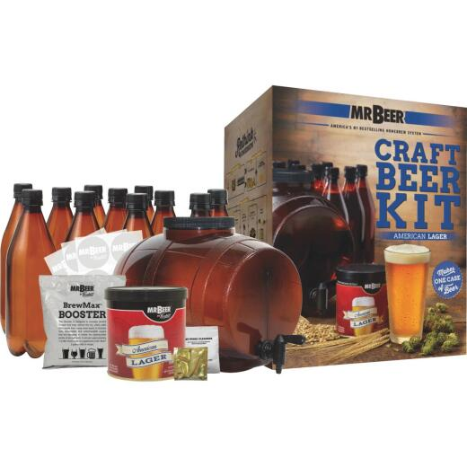 Mr. Beer American Lager Complete Beer Brewing Kit