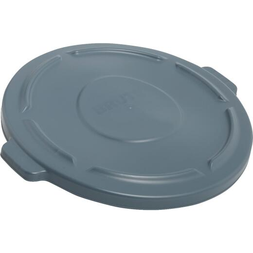 Rubbermaid Commercial Brute Gray Trash Can Lid