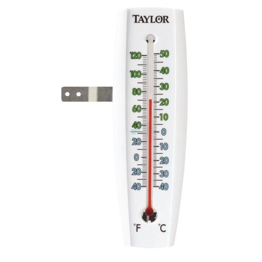 Taylor 7.5 In. Easy-To-Read Indoor & Outdoor Thermometer