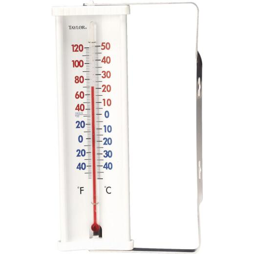 Taylor 8 In. Tube Outdoor Window Thermometer