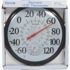 Taylor Fahrenheit & Celsius Analog -60 To 120 F, -50 to 50 C Hygrometer & Thermometer Image 2