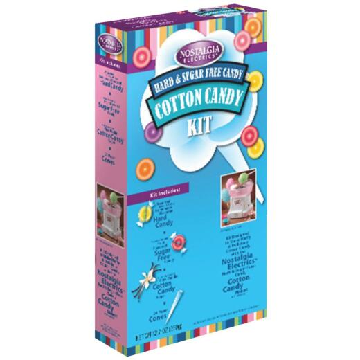 Nostalgia Cotton Candy Hard Candy Kit