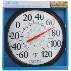 """Taylor 13-1/2"""" Fahrenheit and Celsius -60 To 120 F, -50 To 50 C Outdoor Wall Thermometer Image 2"""