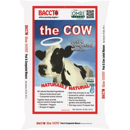Baccto Wholly Cow 40 Qt. Compost & Manure