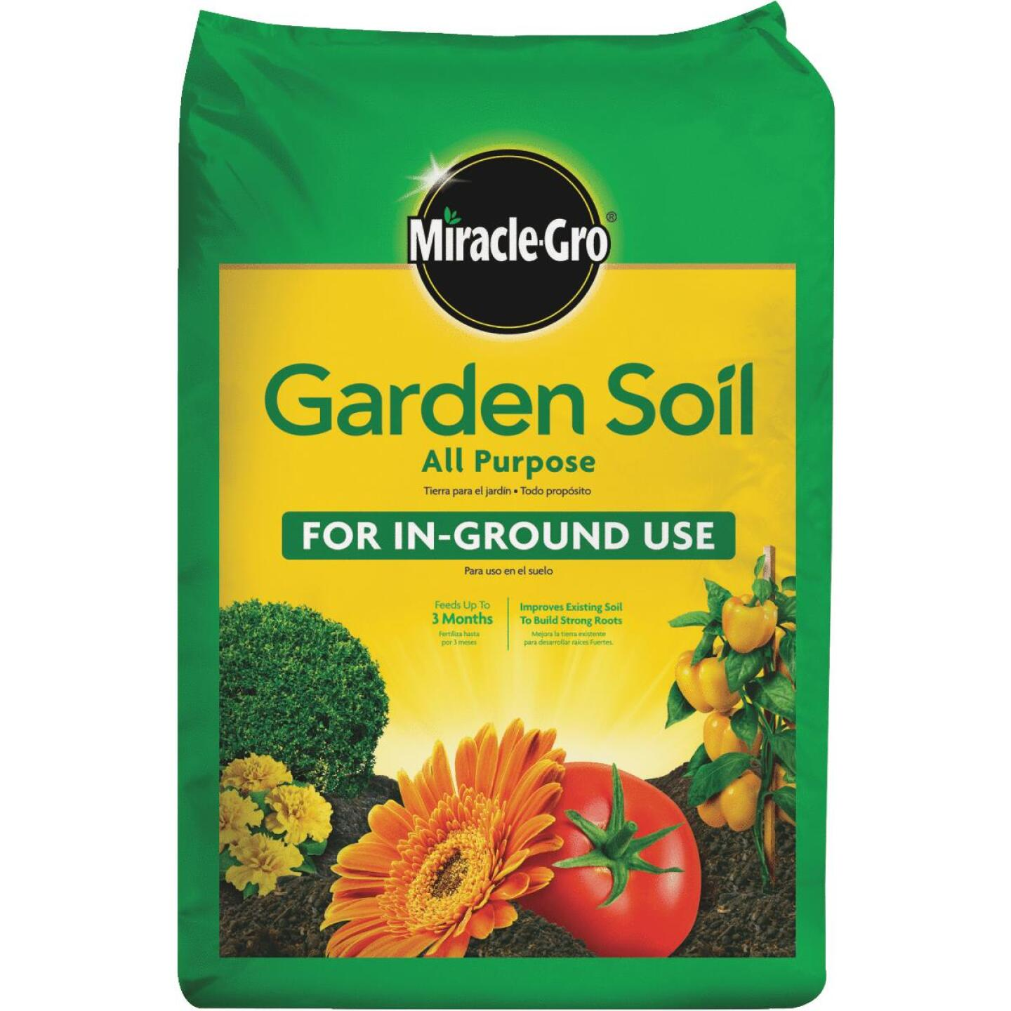 Miracle-Gro 2 Cu. Ft. All Purpose Garden Soil Image 1
