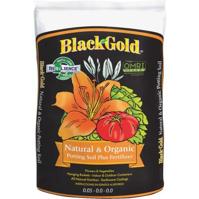 Black Gold 2 Cu. Ft. All Purpose Natural & Organic Potting Soil