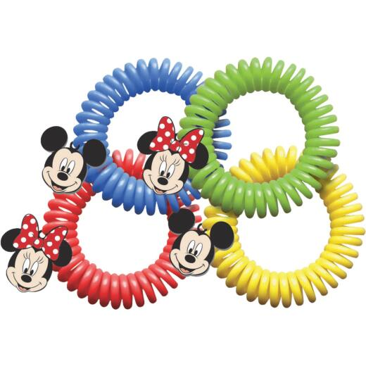 Evergreen Products Disney Assorted Color Insect Repelling Wristband