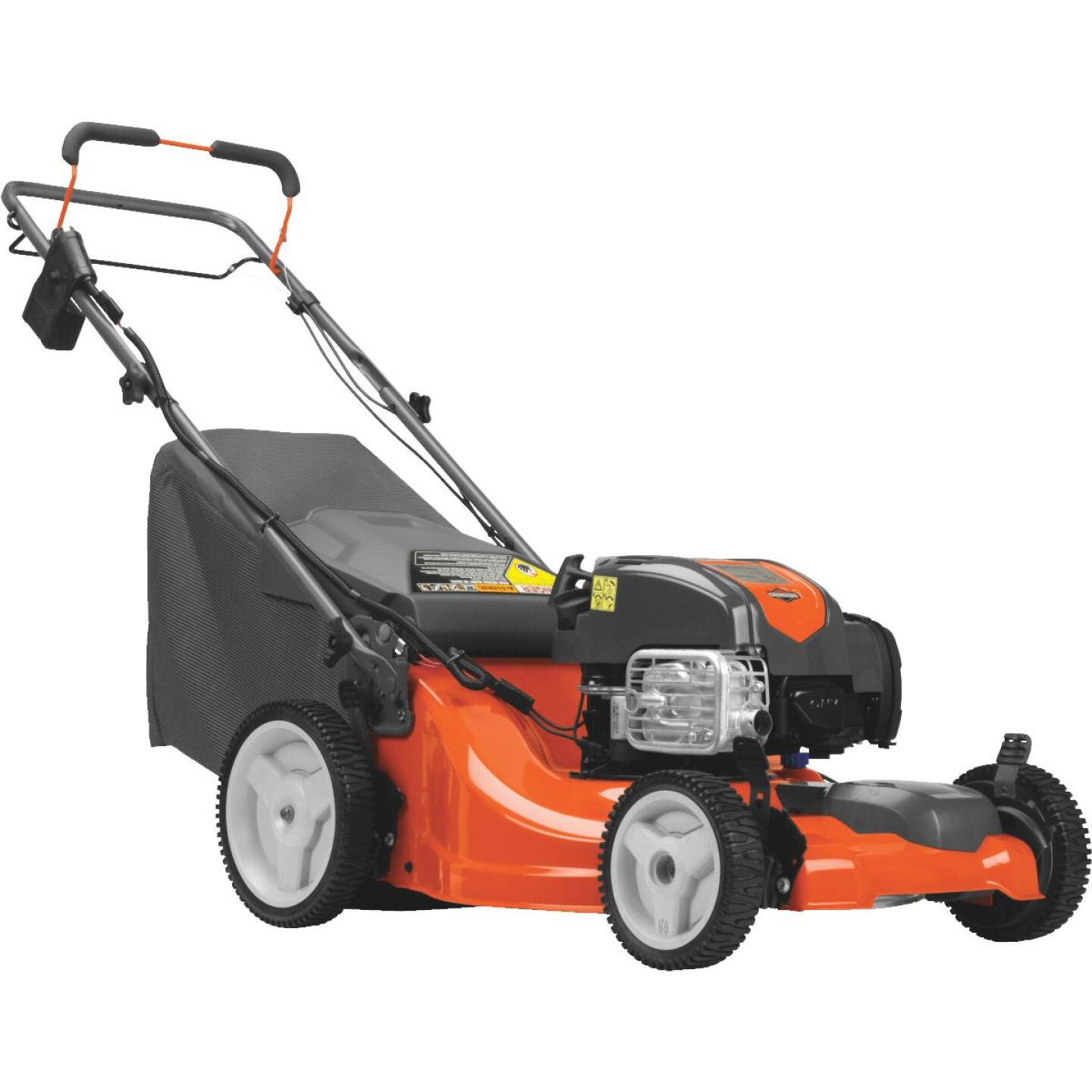 Husqvarna LC221FHE 21 In. 163cc 3-In-1 Self-Propelled Gas Lawn Mower Image 1
