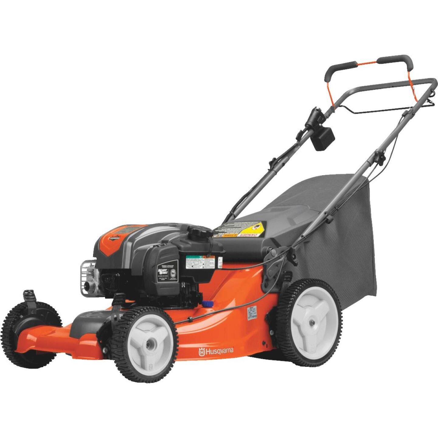 Husqvarna LC221FHE 21 In. 163cc 3-In-1 Self-Propelled Gas Lawn Mower Image 4
