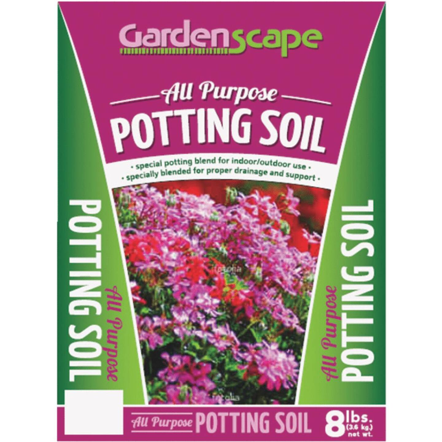 Gardenscape 8 Lb. All Purpose Indoor & Outdoor Potting Soil Image 1