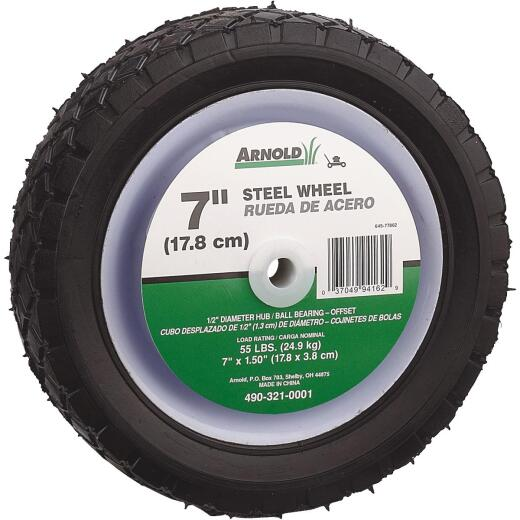 7X1.5 STEEL OFFSET WHEEL