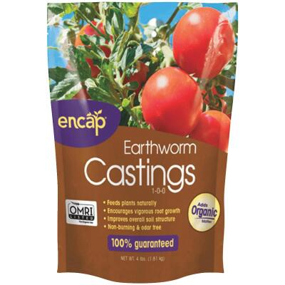 Encap 4 Lb. Earth Worm Castings Soil Condtioner