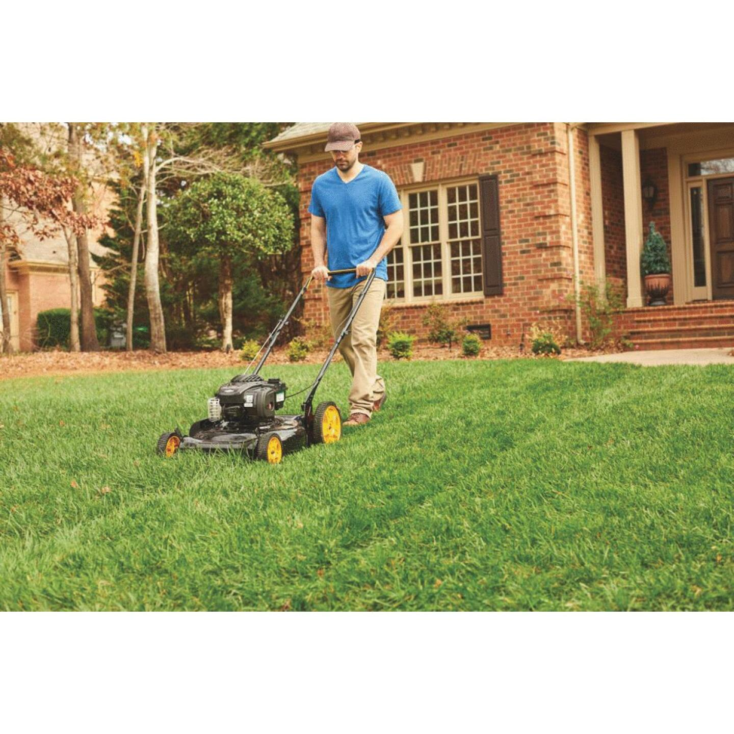 Poulan Pro 21 In. 140cc OHV Briggs & Stratton 2-In-1 Push Gas Lawn Mower Image 2