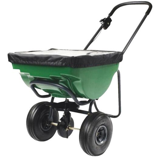 Precision 100 Lb. Broadcast Push Fertilizer Spreader
