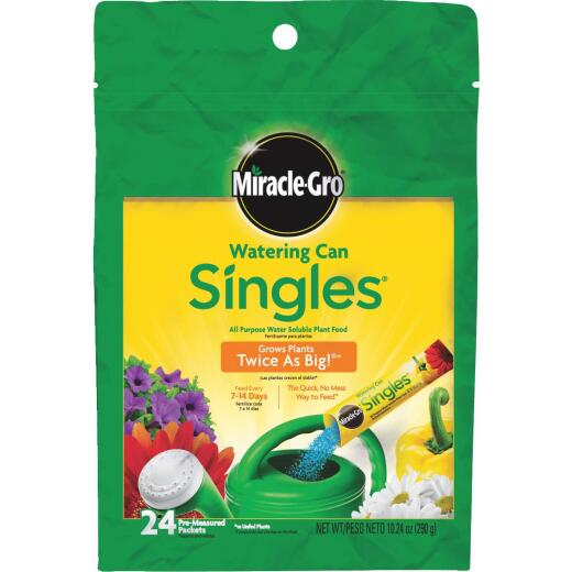 Miracle-Gro Watering Can Singles 24-8-16 Dry Plant Food (24-Count)