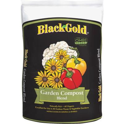 Black Gold 1 Cu. Ft. Organic Lawn & Garden Compost