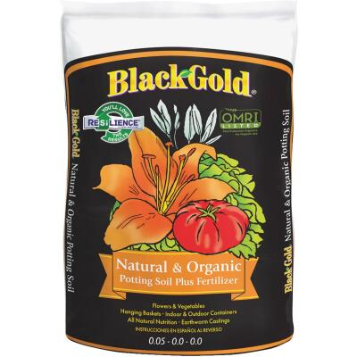 Black Gold 1.5 Cu. Ft. All Purpose Natural & Organic Potting Soil