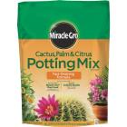 Miracle-Gro 8 Qt. Fast Draining Cactus, Palm & Citrus Potting Soil Image 1