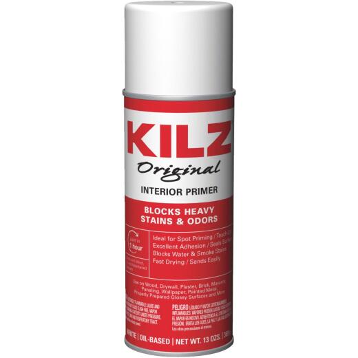 Kilz Original 13 Oz. Primer Sealer Stainblocker Spray, White