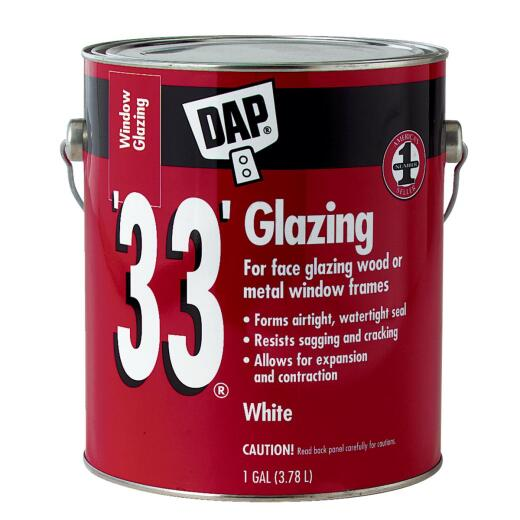 DAP 33 1 Gal. Glazing Compound