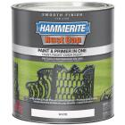Hammerite Rust Cap Oil-Based Gloss Smooth Rust Control Enamel, White, 1 Qt. Image 1