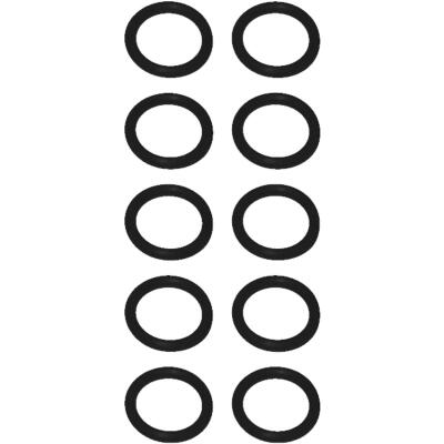 Mi-T-M 1/2 In. x 11/16 In. Pressure Washer O-Ring (10-Pack)