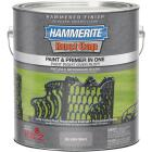Hammerite Rust Cap Paint & Primer In One Hammered Finish, Silver Gray, 1 Gal. Image 1
