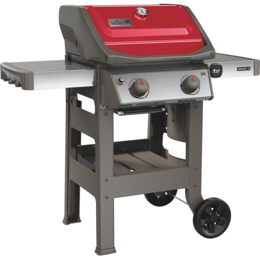 Weber Spirit II E-210 2-Burner Red 26,500-BTU LP Gas Grill