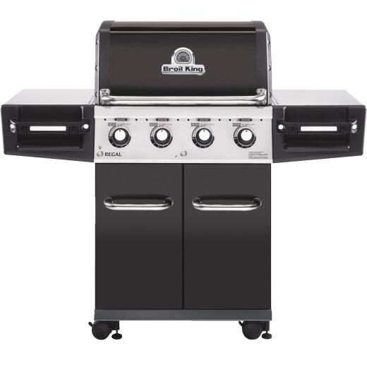 Broil King Regal 420 Pro 4-Burner Black 50,000-BTU LP Gas Grill