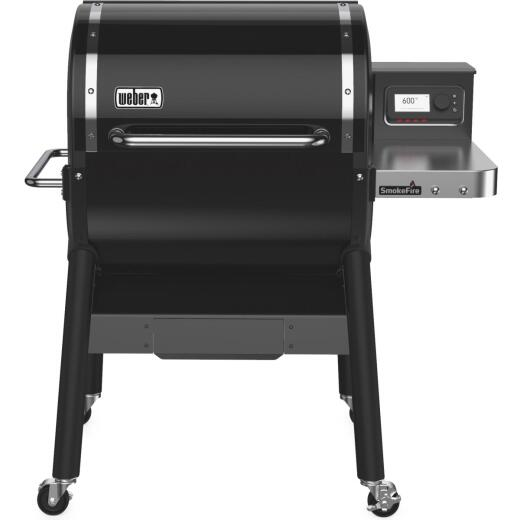 Weber SmokeFire Black 672 Sq. In. Wood Pellet Grill