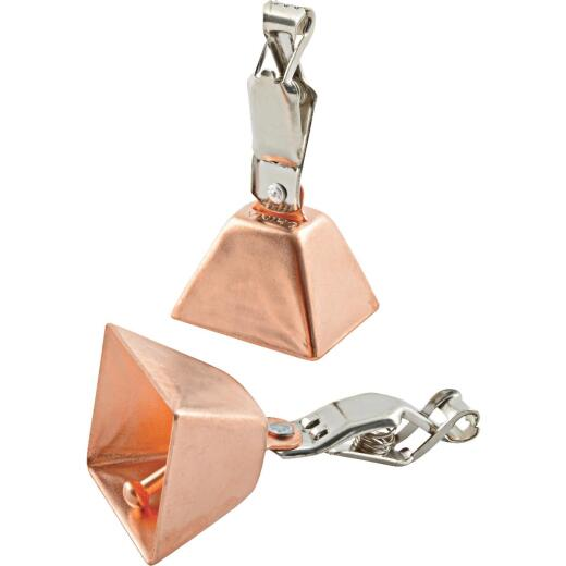 SouthBend Square Copper Bells (2-Pack)